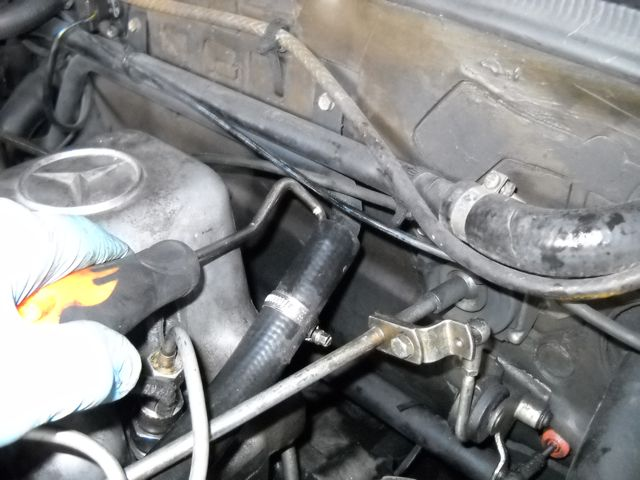 e39 radiator nipple removal