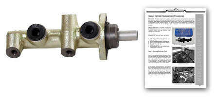 Late 123 Chassis Brake Master Cylinder - Order by Vin