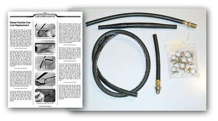 126 300SD Flexible Fuel Line Kit