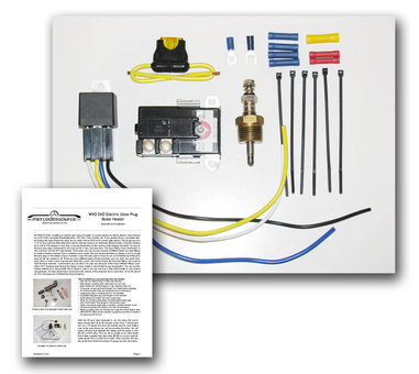 SVO fuel heater kit w instructions