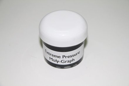 Extreme Pressure Moly Grease - 2 oz Screw Lid Clear Container