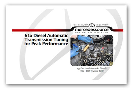 61x Diesel Automatic Transmission Tuning Manual