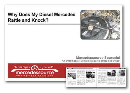 why does my diesel rattle and knock diagnostic sourcelet by kent bergsma mercedessource. Black Bedroom Furniture Sets. Home Design Ideas
