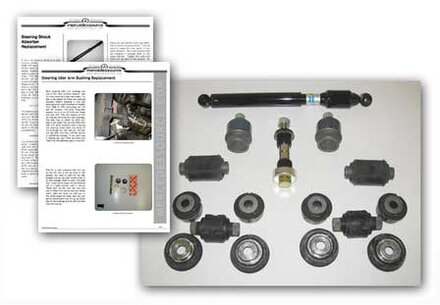 116 Chassis Lower Front Suspension Ultimate Restoration Kit