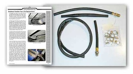 126 300SD Flexible Fuel Line Replacement Kit | MercedesSource Kits