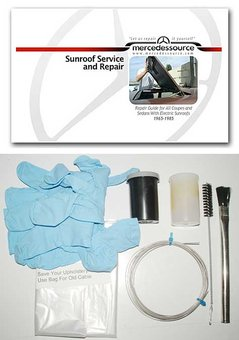 Power Sunroof Service and Repair Kit