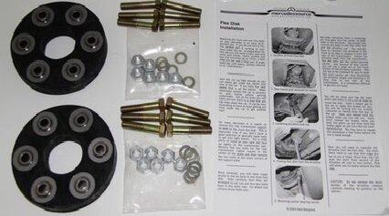 116 123 126 5 cylinder TURBO DIESEL Driveline Flex Disk Kit