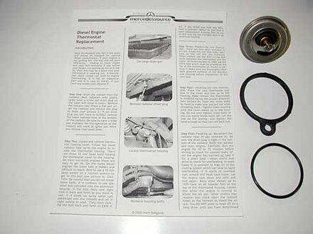 115 116 123 126 Diesel Thermostat Installation Kit