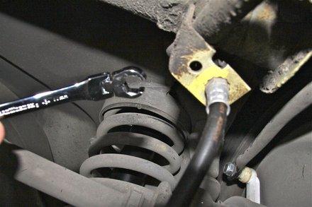 goodridge brake hose fitting instructions