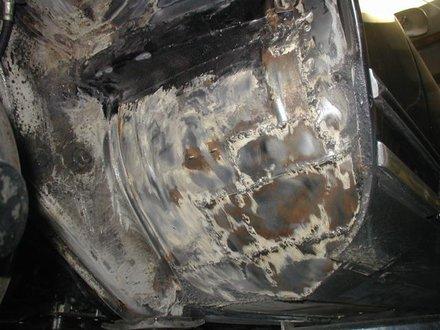 Welding In New Sheet Metal When Repairing Rust Out Rust