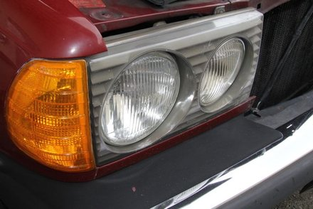 Weak u s round or square headlights on 1985 and older for Mercedes benz headlight problems