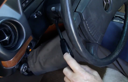 Turn Signal Lever Won't Hold Position When Pushed Up or Down