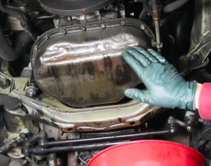 Why You Should Remove The Oil Pan On An Old Car Engine Problem