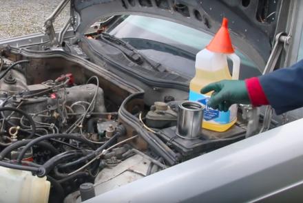 Old Diesel Engine Combustion