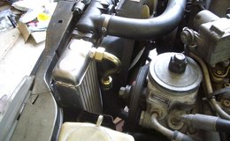 Dustin oil cooler