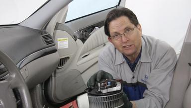 Mercedes 211 Blower Motor Problems - On Demand Video Instructions