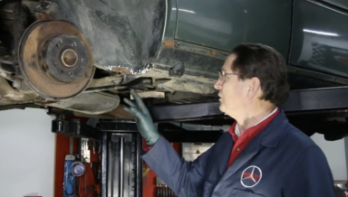 Under Body and Under Trim Spot Rust Repair - On Demand Video