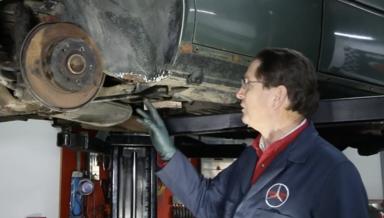 Under Body and Under Trim Spot Rust Repair - On Demand Video