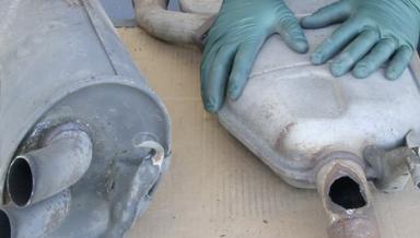 Mercedes Muffler Repair - On Demand Video