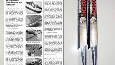 107 Bosch Excel Wiper Blades