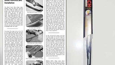 124 Bosch Excel Wiper Blade