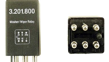 Wiper delay relay new