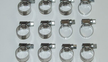 German hose clamps set 12