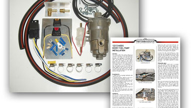 Diesel Biodiesel SVO Electric Fuel Boost Pump Kit  w/ Illustrated Instructions