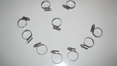 Medium hose clamps