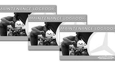 Maintenance Log Book 3 Pack For ALL MODELS (Junior Version)