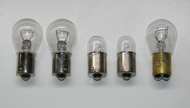 Standard Tail Light Bulb Assortment (5