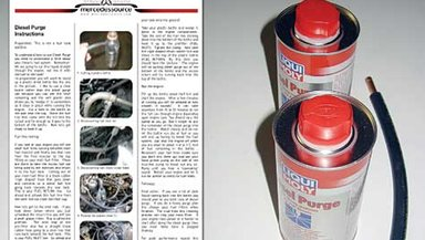 Using diesel purge the best medicine for a sick diesel for Mercedes benz fuel injector cleaner