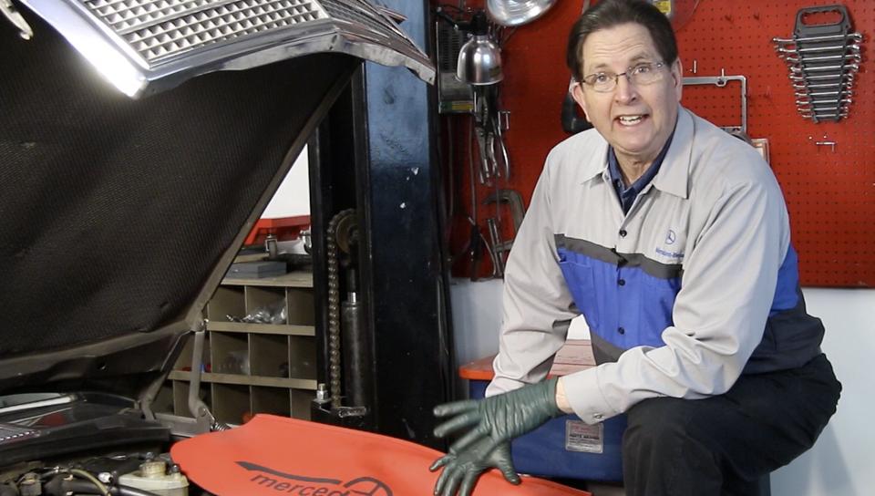Bleeding a Mercedes Diesel - On Demand Video