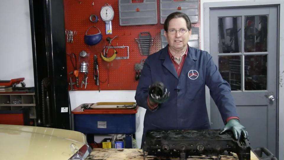 Mercedes Blown Diesel Engine - On Demand Video